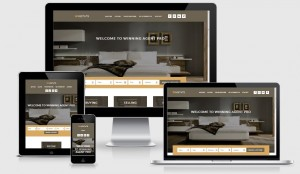 Responsive WordPress real estate theme