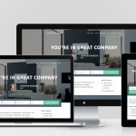 agent focused pro responsive mockup on 4 devices