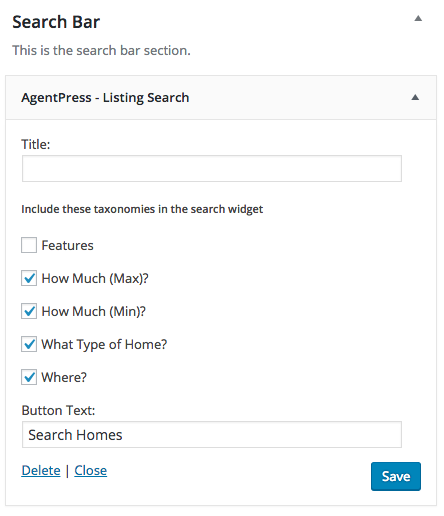agentpress listing search