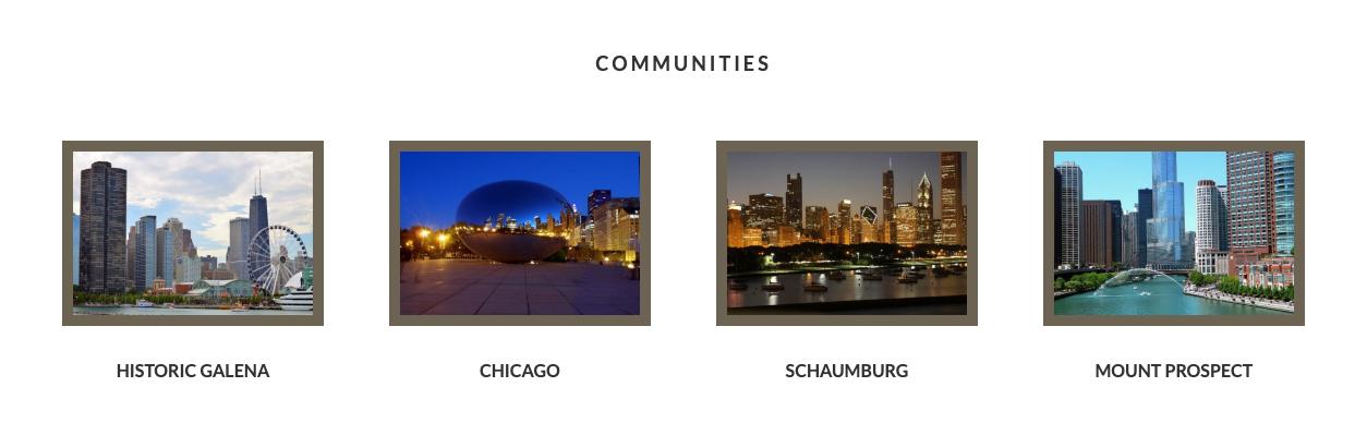 home communities widget area
