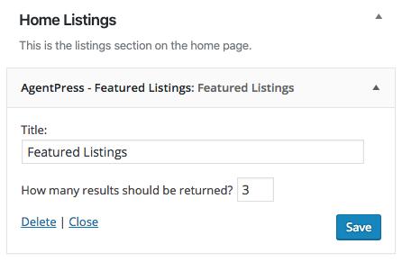 agentpress featured listings