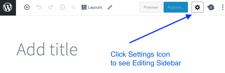wordpress settings icon