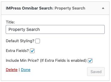 impress omnibar search in sidebar